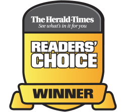 Herald Times Readers' Choice Logo